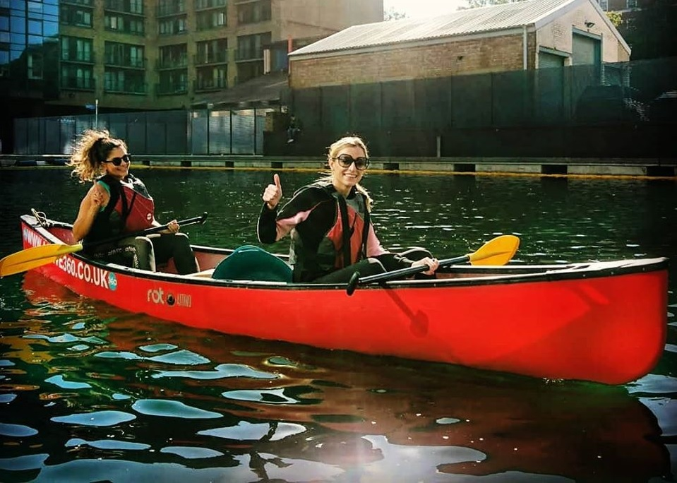 Canoeing in London